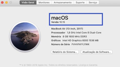 Versão Mac