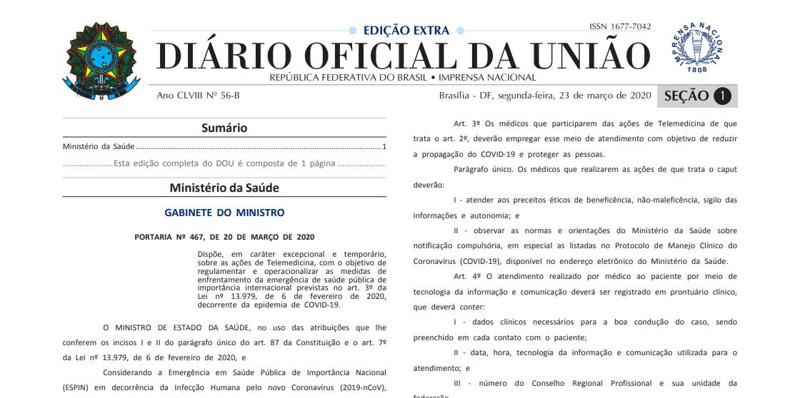 diario oficial uniao
